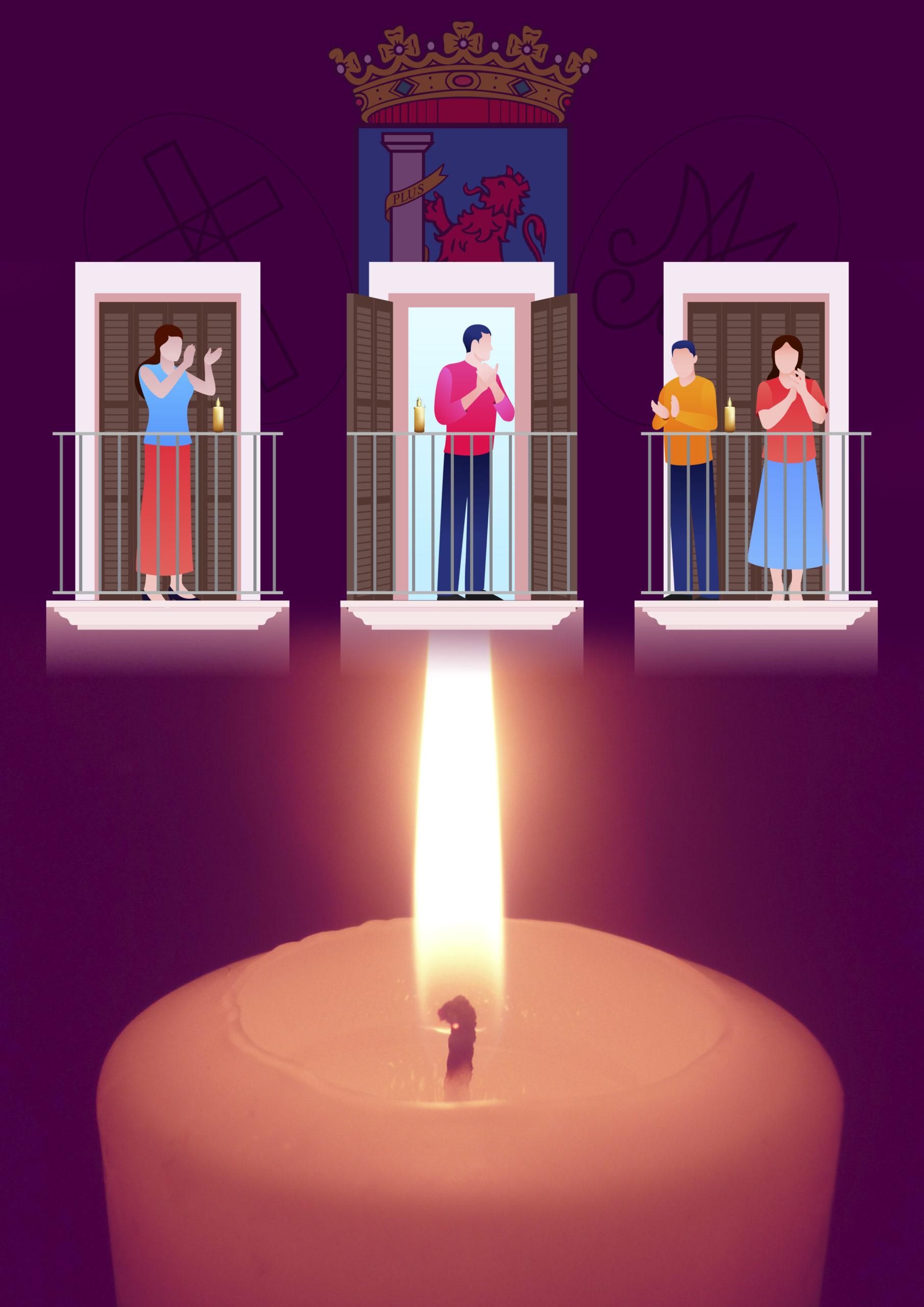 Una vela en tu balcón