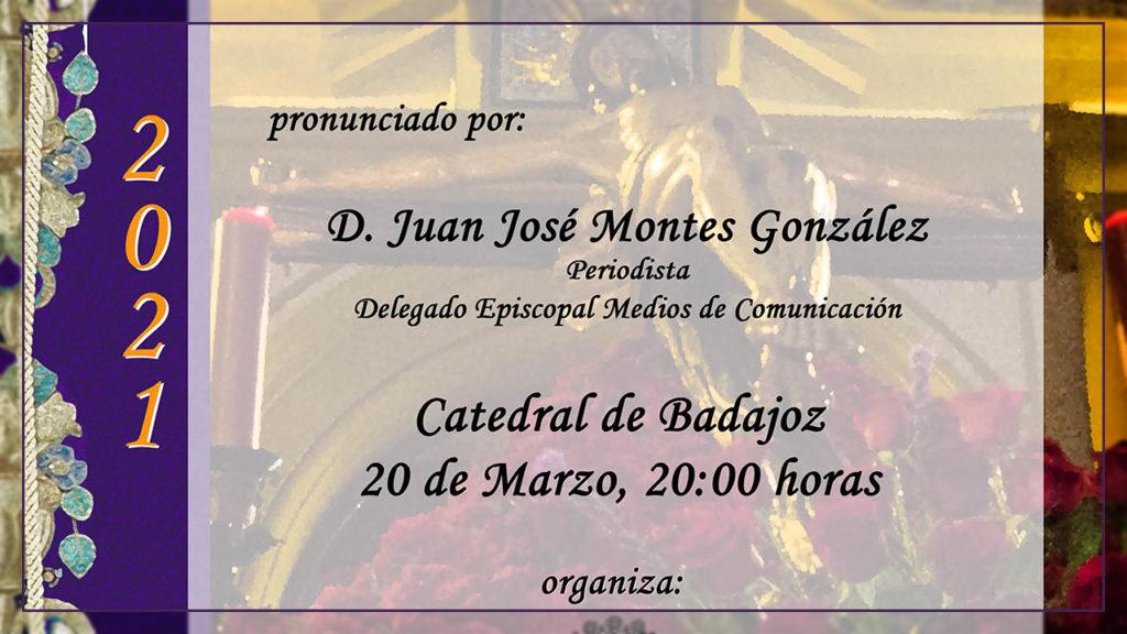 Pregón de la Semana Santa 2021